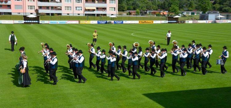 Bezirksmusikertreffen und Marschwertung Krieglach 2015